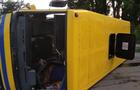 На Рахівщині перекинувся рейсовий автобус - постраждало 5 пасажирів