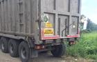 На Закарпатті затримали вантажівку з львівським сміттям