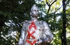 У Сваляві розмалювали пам'ятник радянському воїну