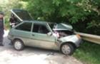 На Перечинщині п'яний водій на Таврії вдарився у паркан приватного будинку