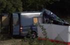 Мікроавтобус із закарпатськими заробітчанами зіштовхнувся з потягом у Чехії. Є загиблі