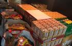 Закарпатські митники відібрали в українця 2600 упаковок шоколаду
