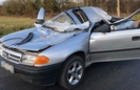 На Ужгородщині автомобіль врізався в трактор: Водій загинув, пасажир-підліток - в лікарні