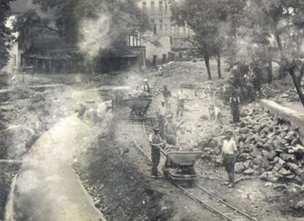 Як в Ужгороді чехи заховали в труби Малий Уж (ФОТО)