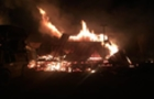 У Мукачеві горить деревопереробний цех (ВІДЕО)