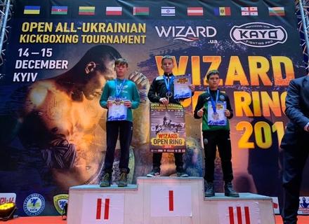 Ужгородські юні кікбоксери завоювали на міжнародному турнірі в Києві 4 золоті та по одну срібну й бронзову нагороди