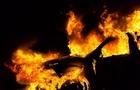 На Тячівщині згорів автомобіль BMW X5
