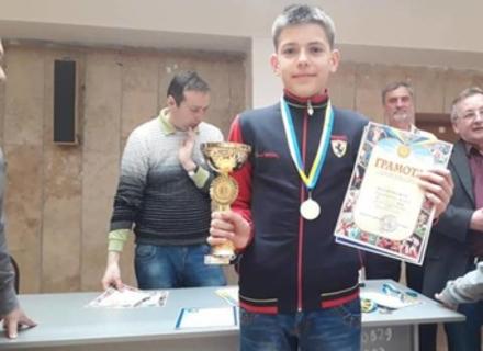 Мукачівець Вадим Петровський став четвертим на Чемпіонаті Європи з шахів