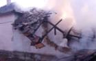 У Перечині вибух газу спричинив пожежу