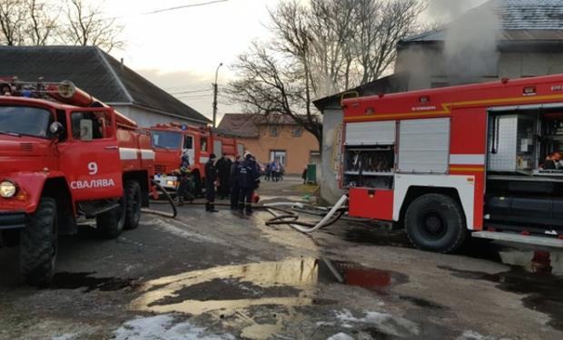 На Закарпатті пожежа у школі. Евакуйовано 177 школярів