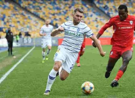 Минай програє Динамо у Києві