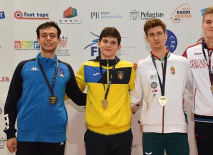 Василь Гумен став чемпіоном Європи з фехтування на шаблях