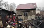 В Ужгороді горіли циганські бараки (ФОТО)