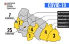 Закарпатська ОДА оприлюднила інформацію по кількості інфікованих коронавірусом закарпатців у кожному з районів (КАРТА)