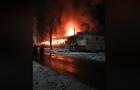На Виноградівщині сталася масштабна пожежа - згорів магазин