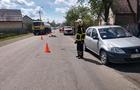 На Хустщині зіткнулися автомобіль та мотоцикл