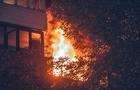 У Виноградові серед ночі згоріла квартира. Постраждали люди