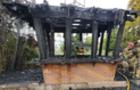В Ужгороді згорів торговельний кіоск