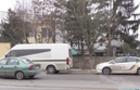 В Ужгороді автомобіль поліцейських врізався в мікроавтобус (ВІДЕО)
