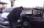 Лобове зіткнення автомобілів біля Мукачева. Один з водіїв був дуже п'яним (ВІДЕО)
