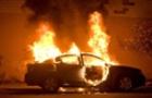 Біля Ужгорода вночі згорів автомобіль АУДІ