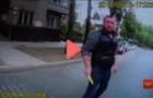 Оприлюднено відео ножового нападу закарпатця на львівську патрульну