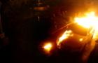 Взято під варту підозрюваного у підпалі дорогого авто у Королево