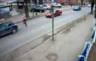 У Перечині на пішохідному переході поблизу школи автівка збила школяра (ВІДЕО)