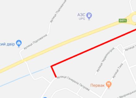 В Мукачеві будують новий виїзд на трасу Київ-Чоп