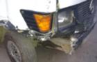 В Ужгороді нетверезий водій мікроавтобуса пошкодив кілька припаркованих автомобілів (Фото)