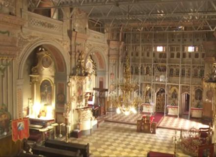 В Ужгороді відреставрують внутрішні розписи та унікальний іконостас греко-католицького Кафедральному собору