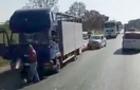 У Тячеві зіткнулися легковик, мікроавтобус та вантажівка