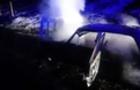 В Ужгороді згорів автомобіль ВАЗ