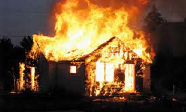 На Рахівщині вогонь знищив житловий будинок