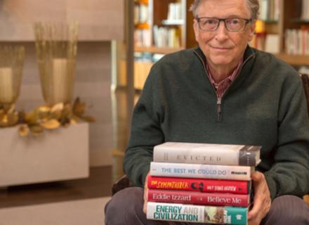 5 кращих книг 2017 року за версією Білла Гейтса