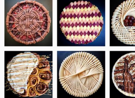 Жінка створює пироги з дивовижним оздобленням