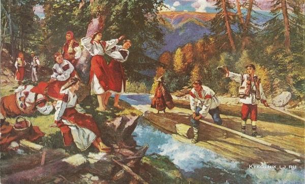 Бокшай Иосиф Иосифович (1891-1975) «Бокораши (плотогоны)»