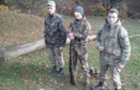 Озброєного вогнепальною зброєю браконьєра затримали закарпатські прикордонники біля кордону зі Словаччиною