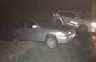 На Хустщині п'яний водій на ВАЗ застряг у кюветі