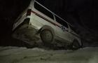 У Рахові автомобіль швидкої допомоги перекинувся у кювет (ФОТО)