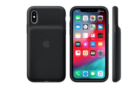 Apple випустила чохли-акумулятори для iPhone XS, XS Max і XR