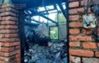 На Рахівщині згорів будинок, Загинула 84-річна господарка
