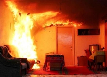 На Берегівщині згорів приватний будинок