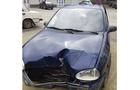 На Іршавщині поліцейський на автомобілі зніс бетонну електроопору