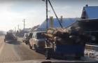Відео дня: Колона циганських автомобілів з краденими дровами на Ужгородщині (ВІДЕО)