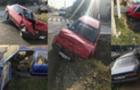 ДТП на Виноградівщині: Вщент розбилися два автомобіля AUDI