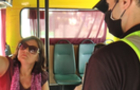В Ужгороді оштрафували пенсіонерку за відмову вдягти маску у маршрутці