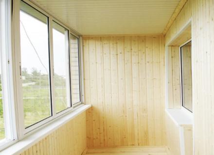 Обшивка балкона: основные материалы для этого