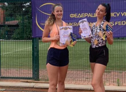 Ужгородка Дичка знову стала чемпіонкою України з тенісу