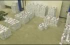 Закарпатські митники та прикордонники випустили до Угорщини 75 тисяч пачок контрабандних сигарет на суму 8 млн. грн. (ВІДЕО)